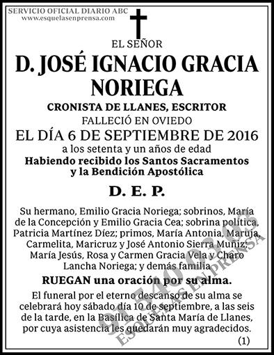 José Ignacio Gracia Noriega